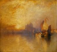 Закат в Венеции - Моран, Томас