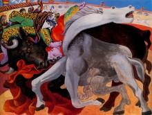 Бой быков, смерть тореро, 1933 - Пикассо, Пабло