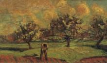 Пейзаж в Иль-де-Франс, 1885 - Гийомен, Арманд