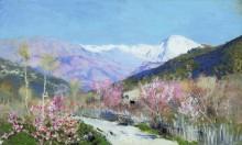 Весна в Италии. 1890 (Этюд) - Левитан, Исаак Ильич