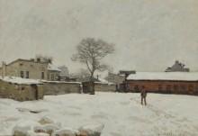Снег - Сислей, Альфред
