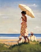 Девушка с зонтиком - Веттриано, Джек
