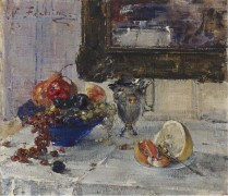 Натюрморт с грейпфрутом, 1923 - Фешин, Николай Иванович