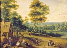 Обед в деревне -  Тенирс, Давид