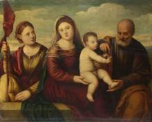 Мадонна с младенцем и святыми - Личинио, Бернардино