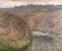 Крез, пасмурная погода, 1889 - Моне, Клод