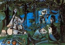 Завтрак на траве (Мане), 1960 - Пикассо, Пабло