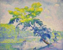 Изгиб дерева, 1905 - Кросс, Анри Эдмон