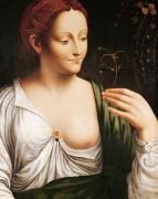 Коломбина (мастерская Леонардо) - Винчи, Леонардо да