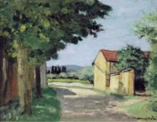 Дорога под деревьями - Андре, Альберт