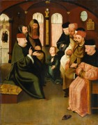 Христос среди книжников - Босх, Иероним (Ерун Антонисон ван Акен)