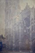 Кафедральный собор в Руане, эффект утреннего света - Моне, Клод