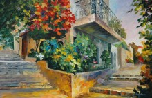 Цветник в Иерусалиме - Афремов, Леонид (20 век)