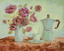 Кофейник и амаранты - Борелли, Гвидо (20 век)
