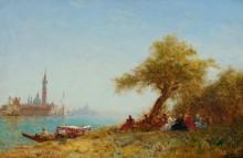 Пикник под деревом в Венеции -  Зим, Феликс