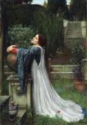 Изабелла и кувшин с базиликом - Уотерхаус, Джон Уильям