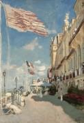 Отель де Рош Нуа, Трувиль, 1870 - Моне, Клод