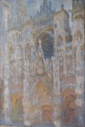 Руанский собор, магия в синем, 1893-1894 - Моне, Клод