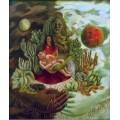 Дружеские объятия Вселенной, земли (Мексики). Я, Диего и Сеньор Холотль - Кало, Фрида