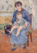 Молодая мать - Ренуар, Пьер Огюст