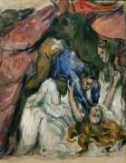 Удушение женщины - Сезанн, Поль