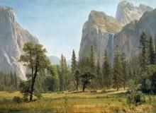 Водопад Брайдел Вейл, Йосемитский парк - Бирштадт, Альберт