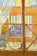 Лавка мясника. Вид из окна - Гог, Винсент ван