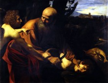 Жертвоприношение Исаака - Караваджо, Микеланджело Меризи да