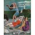 Купальщицы, 1918 - Пикассо, Пабло