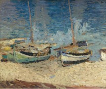Лодки на песке в Колиуре, 1923 - Мартен, Анри Жан Гийом