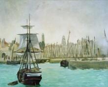 Порт в Кале - Мане, Эдуард