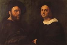 Двойной портрет - Рафаэль, Санти
