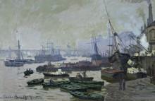 Корабельная пристань в Лондоне - Моне, Клод