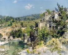 Старая мельница - Дешам, Габриэль