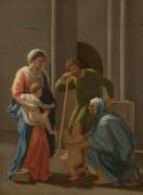 Святое семейство со святыми Елизаветой и Иоанном - Пуссен, Никола