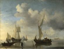 Голландские суда - Велде, Виллем ван де (Младший)