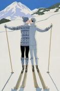 Влюбленные на лыжном курорте - Барбье, Жорж