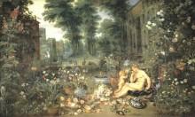 Улыбка, 1618 - Брейгель, Ян (Старший)