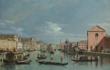 Венеция - Гранд-канал перед Санта-Кроче - Беллотто, Бернардо