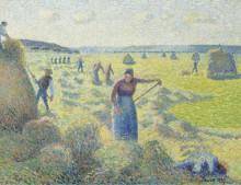 Заготовка сена, 1887 - Писсарро, Камиль