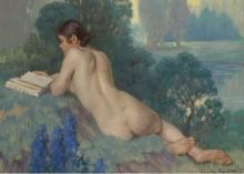 Обнаженная читает, 1933 - Макморрис, Даниэль