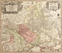 Карта Украины 1742