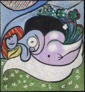 Мечтательница - Пикассо, Пабло