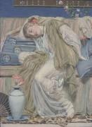 Спящая девочка - Мур, Альберт Джозеф