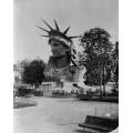 Голова Статуи Свободы на выставке в Париже