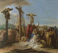 Оплакивание у подножия Креста - Тьеполо, Джованни Баттиста