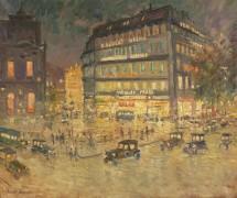 Площадь оперы, Париж - Коровин, Алексей Константинович