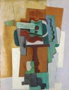 Гитара на столе - Пикассо, Пабло