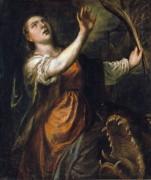 Святая Маргарита и дракон - Тициан Вечеллио