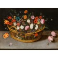 Натюрморт с цветами - Брейгель, Ян (Старший)